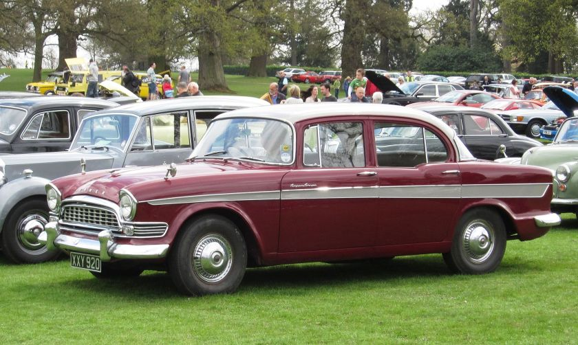 1959 Humber Super Snipe Series II 2965cc red(dish) car