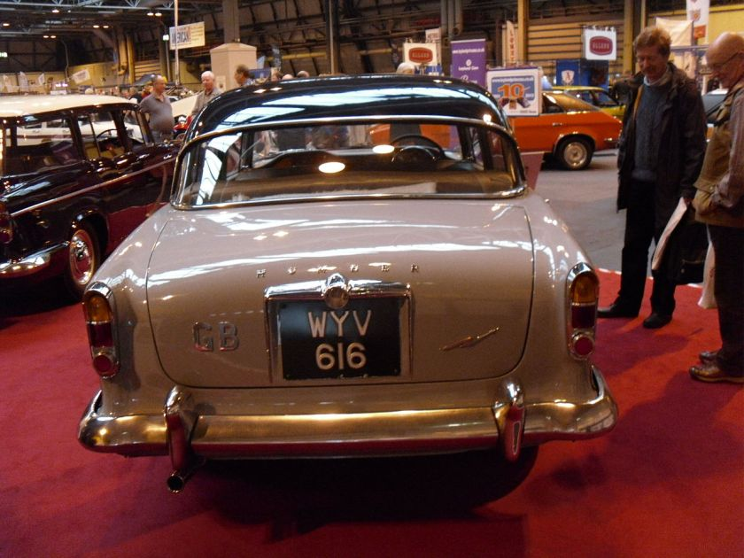 1959 HUMBER SUPER SNIPE WYV 616 rear