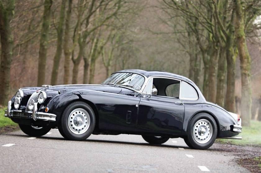 1959 Jaguar XK 150 fixed head coupé