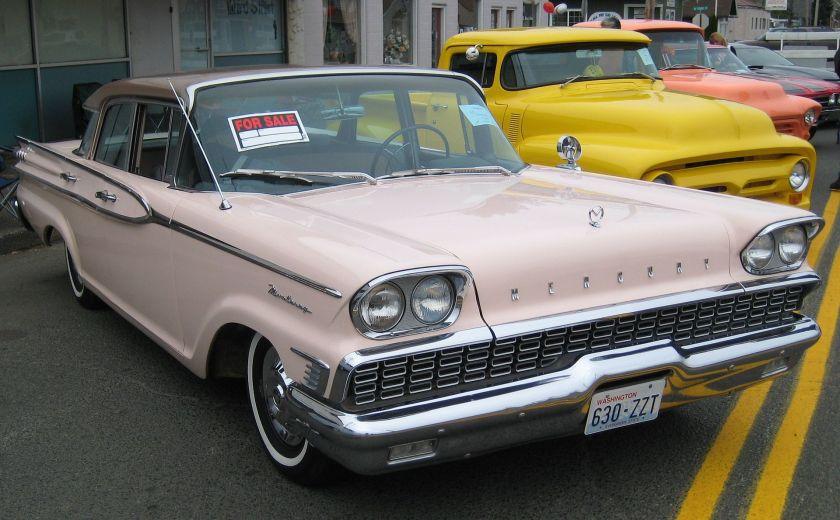 1959 Mercury Monterey a