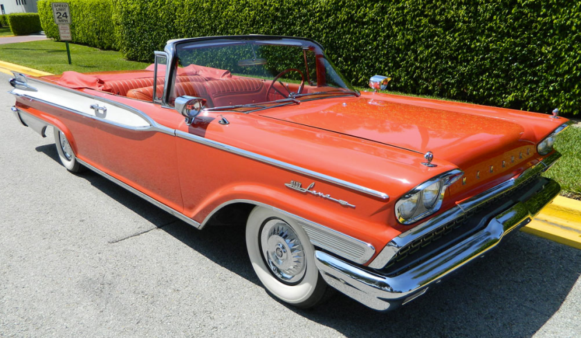1959 Mercury Park Lane Convertible Coupe