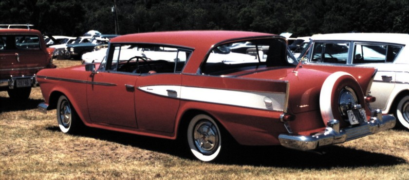 1959 Rambler Country Club hardtop with optional continental tire