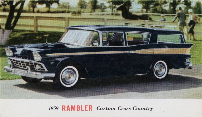 1959 Rambler Custom Cross Country Station Wagon
