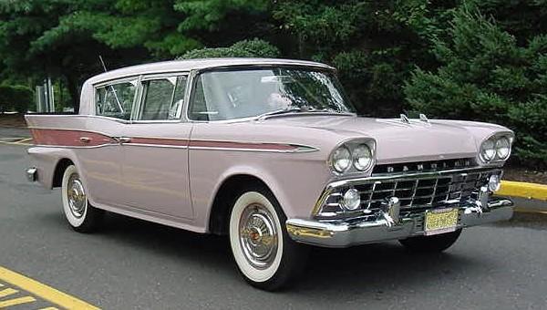 1959 Rambler Six sedan