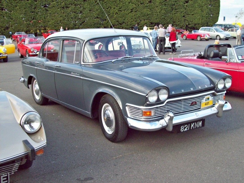 1960-64 Humber Super Snipe Engine 2965 cc S6 O KNM