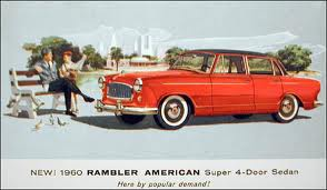 1960 AMC Rambler American Super 4-Door Sedan
