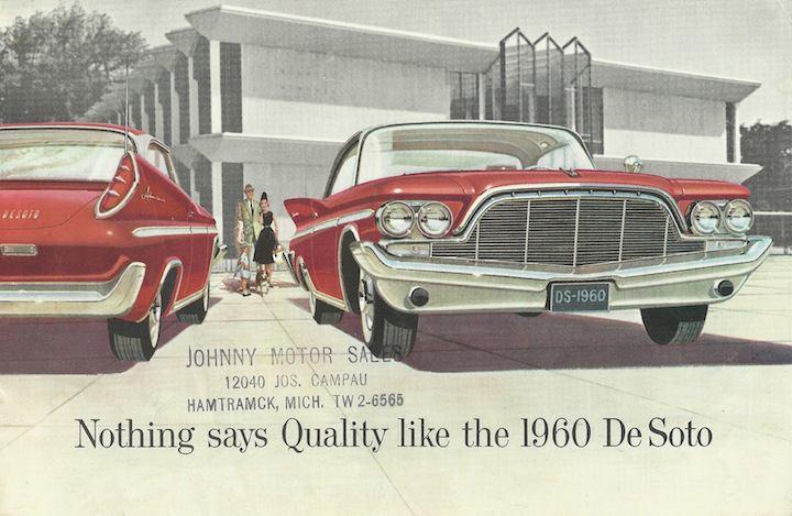 1960 De Soto Ad