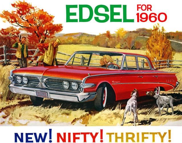 1960 Edsel Ad