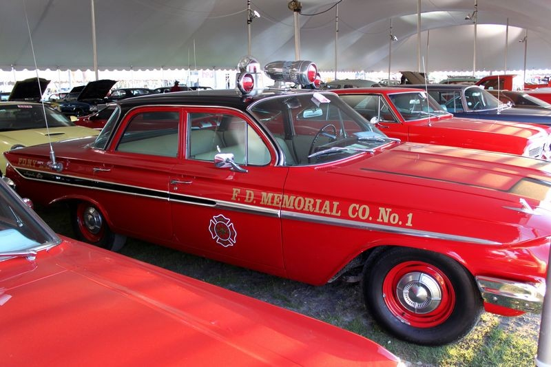 1960 Edsel Fire department car