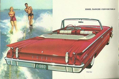 1960 Edsel Ranger Convertible ad