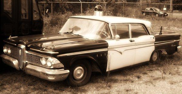 1960 Edsel Squad Car by Hammerhead1135