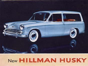 1960 Hillman Husky ad