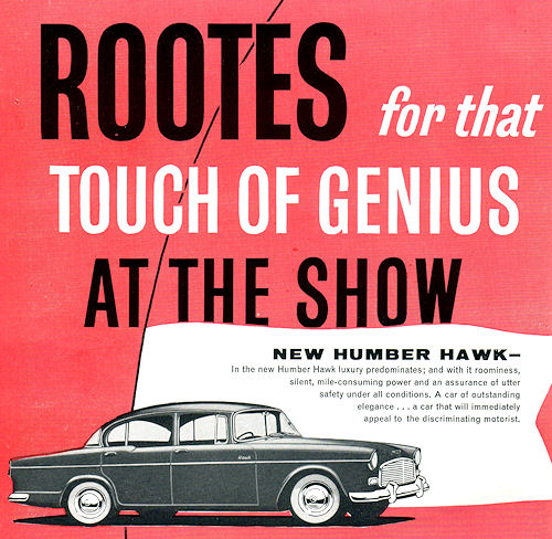 1960 humber hawk oct
