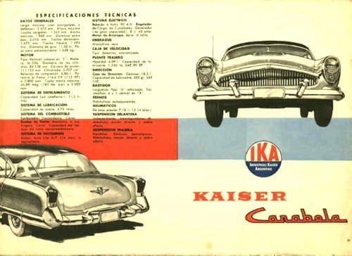 1960 ika carabela rear