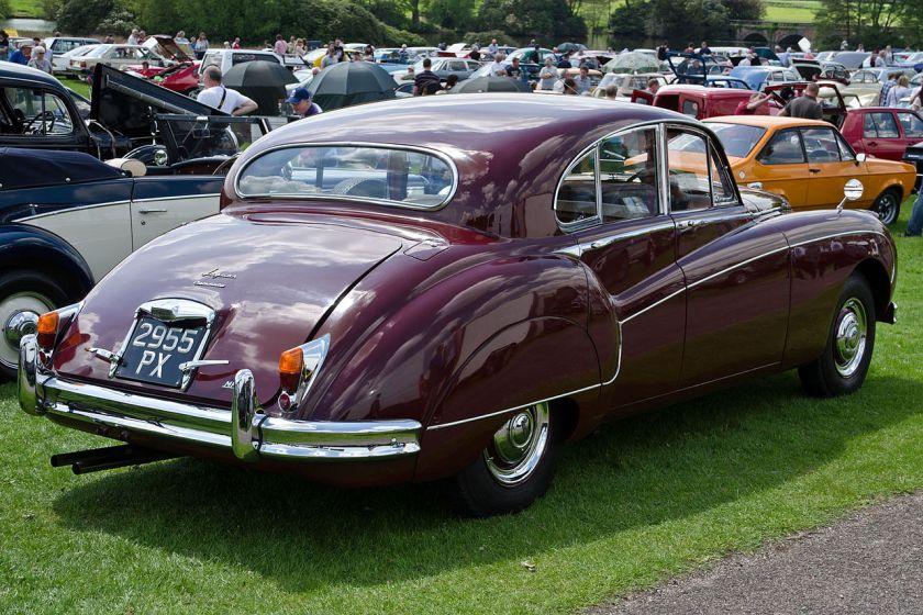 1960 Jaguar 3.8 Mk IX rear