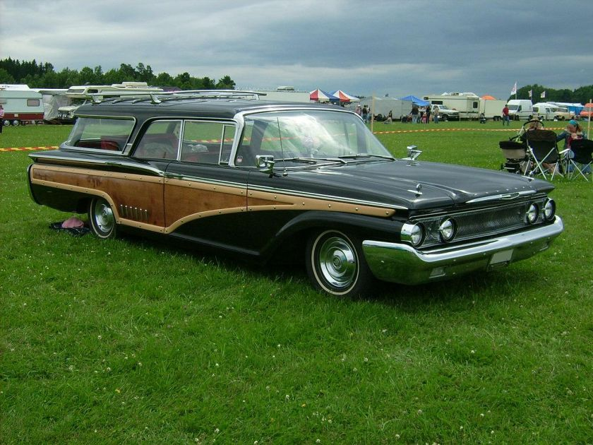 1960 Mercury Colony Park, one of 7411 built that year