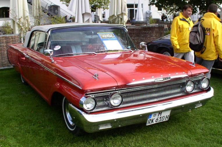 1960 Mercury Monterey cabriolet