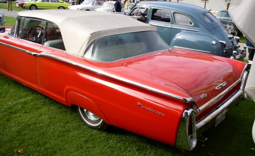 1960 Mercury Monterey convertible rear