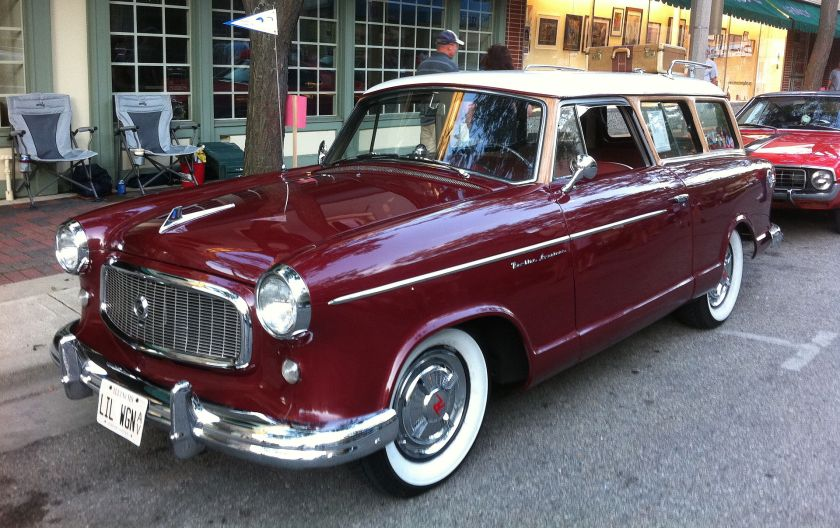 1960 Rambler American Custom wagon