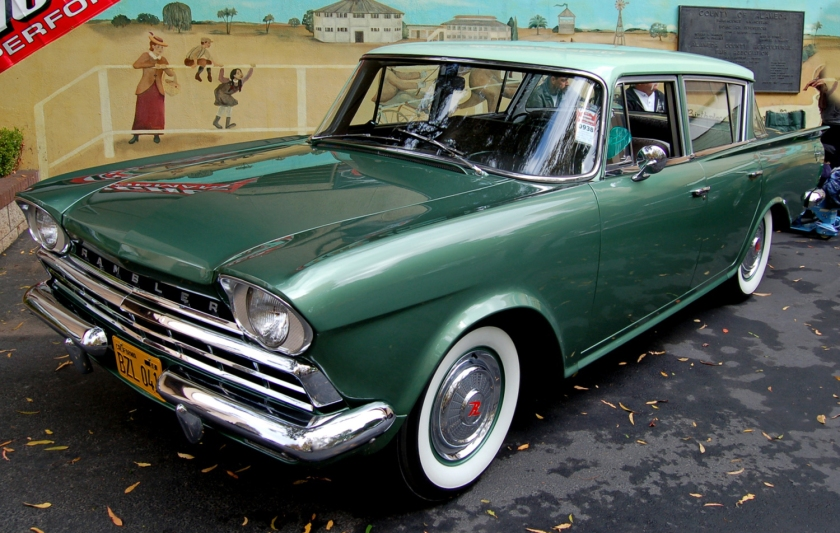 1960 Rambler Six Deluxe sedan, the lowest-priced equipment level