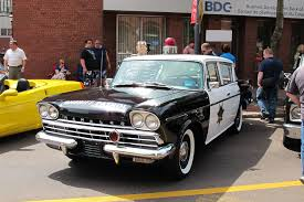 1960 Rambler Super police car
