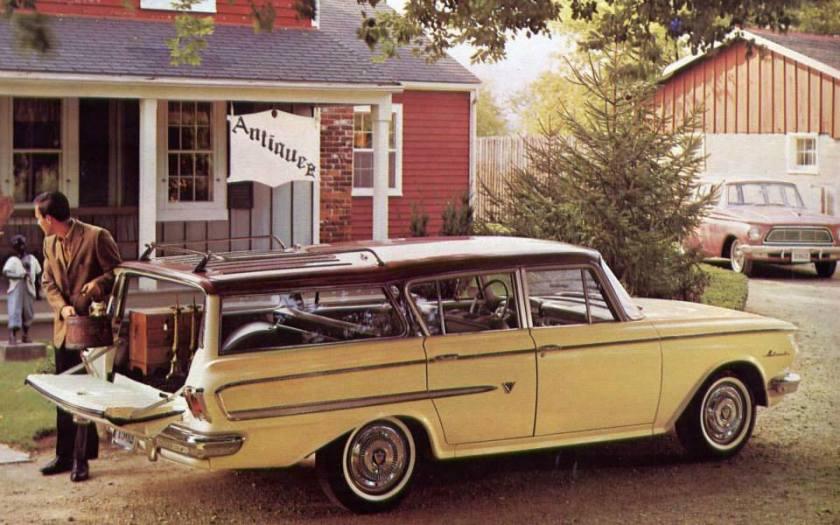 1960 Rambler wagon