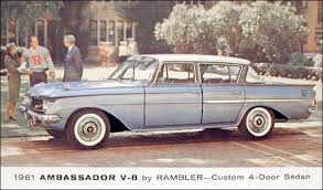 1961 AMC Rambler Ambassador Custom Sedan