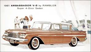 1961 AMC Rambler Ambassador Super Sedan ad