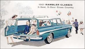 1961 AMC Rambler Classic 3-Seat, 5-Door CrossCountry