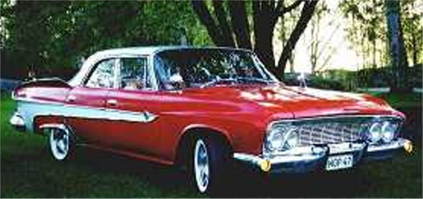 1961 DeSoto Diplomat based on the 1961 Dodge Dart