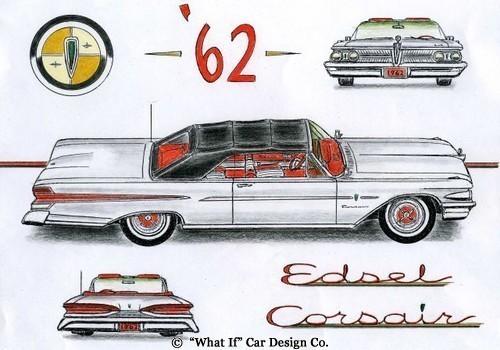 1961 Edsel Prototype 62