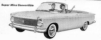 1961 hillman superminx convert