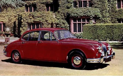 1961 jaguar 2,4litre saloon