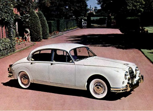 1961 jaguar 3,4litre saloon