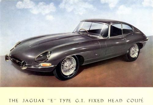 1961 jaguar e coupe