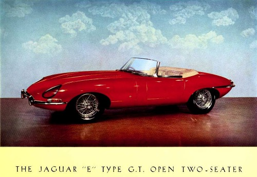 1961 jaguar e roadster