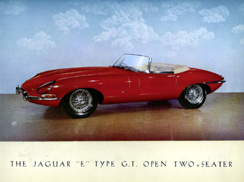 1961 Jaguar E Type 2s