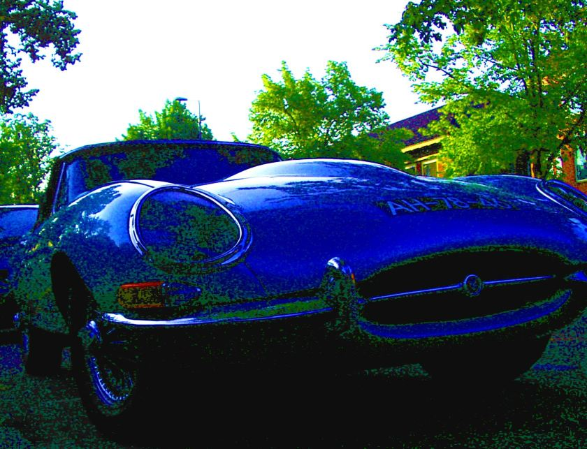 1961 Jaguar E type hard top b bewerkt