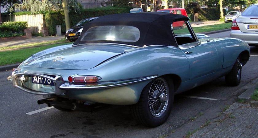 1961 Jaguar E type hard top d