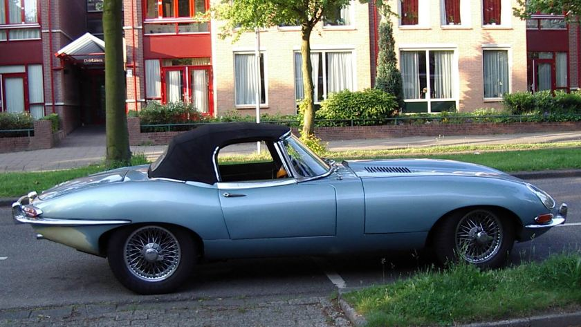 1961 Jaguar E type hard top e