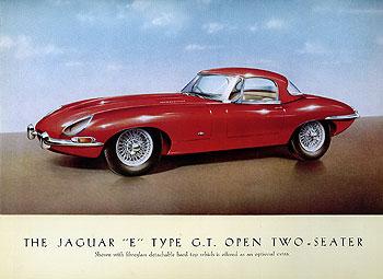 1961 Jaguar E-Type Hardtop