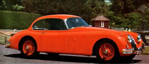 1961 jaguar xk 150 coupe