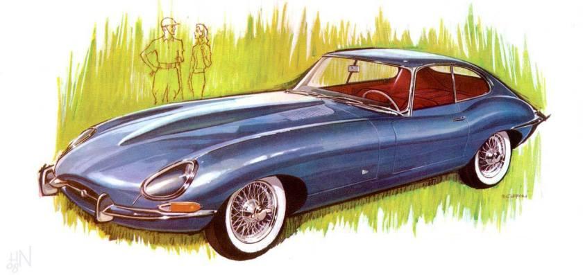 1961 Jaguar XK-E Coupe