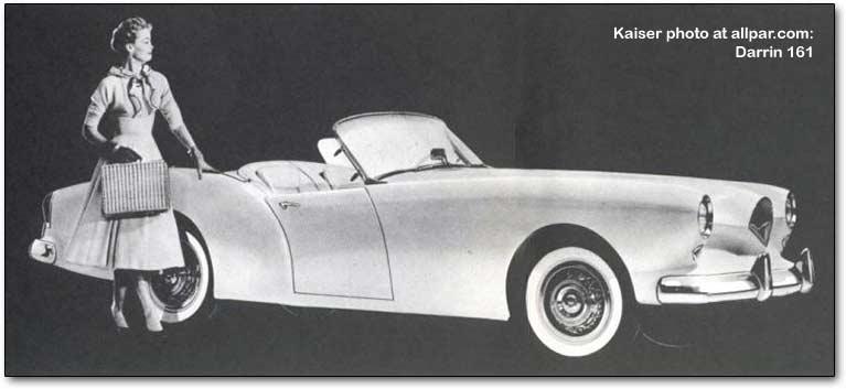1961 Kaiser darrin