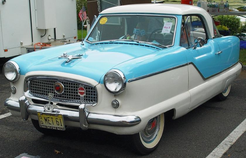1961 Nash Metropolitan-Aqua-White-le