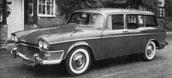 1962 humber super snipe estate car