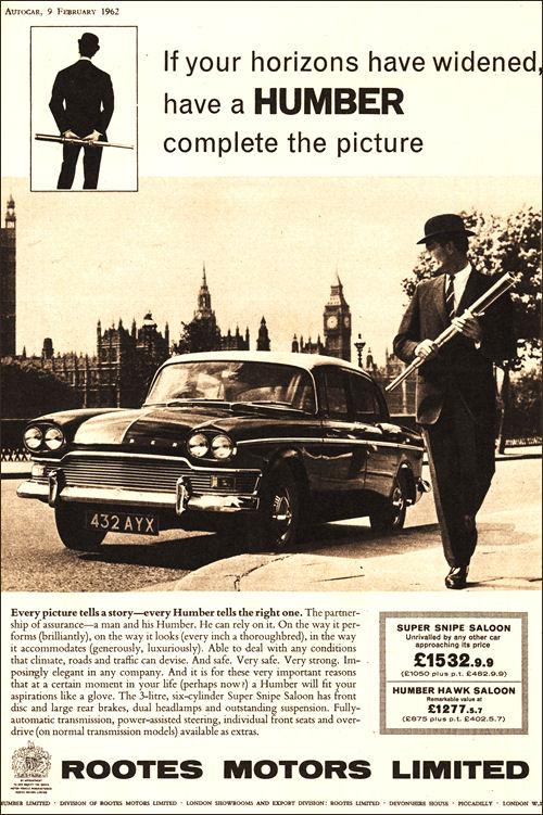 1962 humber super snipe series III