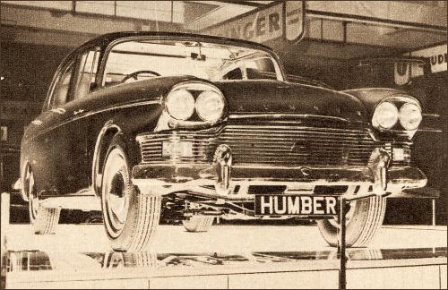 1962 humber super sniper london