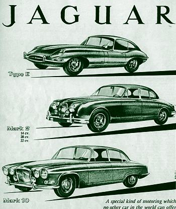1962 jaguar program