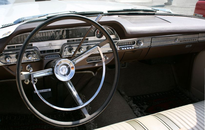 1962 Mercury Monterey Convertible 6400 ccm V8 300 PS 170 Kmh